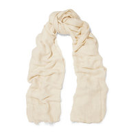 Donna Karan New York Donna Karan New York Open knit Modal Scarf Beige