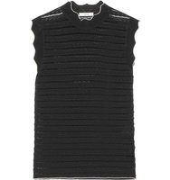 Erdem Erdem Mariana Stretch Pointelle knit Sweater Black