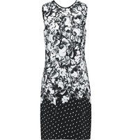 Erdem Erdem Printed Cotton crepe Dress Black