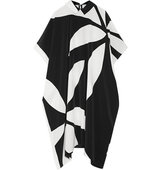 Issa Issa May Jean Printed Silk Crepe De Chine Dress Black
