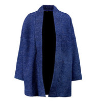 Maje Maje Metallic Knitted Cardigan Royal blue