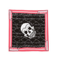 Marc by Marc Jacobs Marc by Marc Jacobs Skull print Cotton Scarf Pink