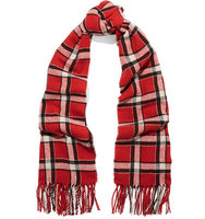 Marc by Marc Jacobs Marc by Marc Jacobs Toto Checked Woven Scarf Red
