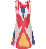 Osman Osman Pedra Printed Crepe And Silk blend Mini Dress Multi