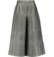 Osman Osman Wool blend Culottes Gray green