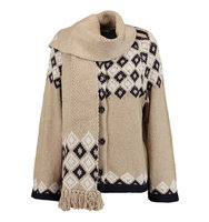 See by Chloe See by Chlo Intarsia knit Cardigan Sand