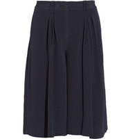 Thakoon Thakoon Addition Pleated Crepe Culottes Black