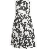 Thakoon Thakoon Strapless Cotton And Silk blend Jacquard Dress White