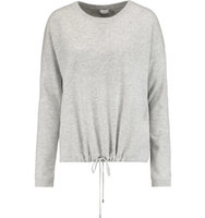 Vince Vince Luxe Wool And Cashmere blend Sweater Light gray