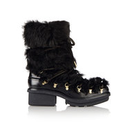31 Phillip Lim 31 Phillip Lim Mallory Leather And Shearling Boots Black