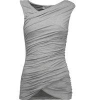 Bailey 44 Bailey 44 Ruched Stretch Jersey Tank Stone