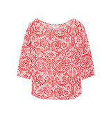 DAY Birger et Mikkelsen Day Birger Et Mikkelsen Fresco Printed Jersey Top Coral