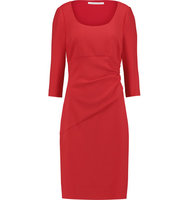 Diane von Furstenberg Diane Von Furstenberg Lillian Stretch Jersey Dress Tomato Red