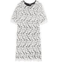 Erdem Erdem Aliya Guipure Lace And Chiffon Dress White