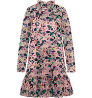 Erdem Erdem Cosima Embroidered Silk Organza Mini Dress Pink