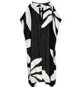 Issa Issa Camilla Printed Silk Chiffon Maxi Dress Black