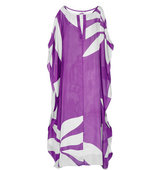 Issa Issa Camilla Printed Silk Chiffon Maxi Dress Purple