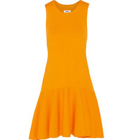 Issa Issa Viola Stretch Jersey Mini Dress Orange