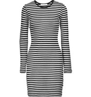Kain Kain Decker Striped Modal Dress Black