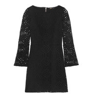 Maje Maje Lace Mini Dress Black