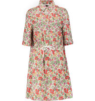 Sonia Rykiel Sonia Rykiel Floral Print Cotton Poplin Mini Dress Multi