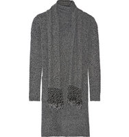Thakoon Thakoon Addition Knitted Cardigan Dark Gray