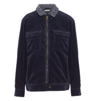 Tomas Maier Tomas Maier Cotton Blend Corduroy Jacket Midnight Blue