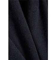 Vince Vince Wool And Cashmere Blend Poncho Midnight Blue