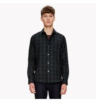 Double Face Wool Plaid Shirt
