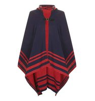 Topshop Border Stripe Cape