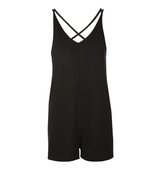 Topshop Cross Strap Romper Playsuit