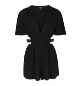 Topshop Cut Out Waist Playsuit