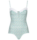 Topshop Floral Embroidered Body