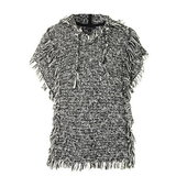 Topshop Hooded Poncho