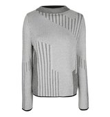 Topshop Mixed Stripe Jumper