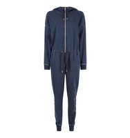 Topshop Oversized Denim Jumpsuit by Ivy Park