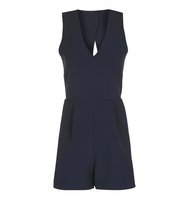 Topshop Popper Back Playsuit