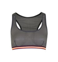 Topshop Sporty Mesh Crop Top