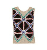 Topshop Suede Patch Vest