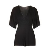 Topshop TALL Deep Plunge Playsuit