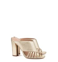 Tory Burch Brida Metallic Mule
