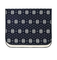 Uniqlo Fleece Blanket Navy