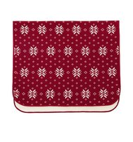 Uniqlo Fleece Blanket Red