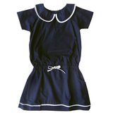 Aravore London Tennis Dress with Contrast Piping Detail