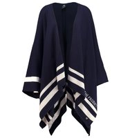 GStar ART PONCHO KNIT S LESS Cape dark saru blue