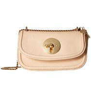 See by Chloe Lois Mini Evening Double Carry Crossbody Nude